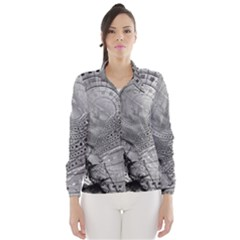 Fragmented Fractal Memories and Gunpowder Glass Wind Breaker (Women)