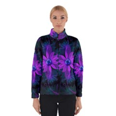 Beautiful Ultraviolet Lilac Orchid Fractal Flowers Winterwear