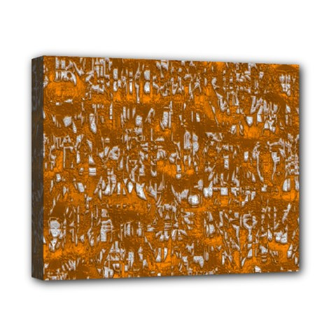Glossy Abstract Orange Canvas 10  x 8