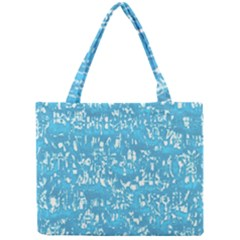 Glossy Abstract Ocean Mini Tote Bag