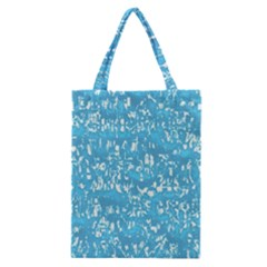Glossy Abstract Ocean Classic Tote Bag