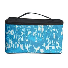 Glossy Abstract Ocean Cosmetic Storage Case