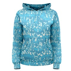 Glossy Abstract Ocean Women s Pullover Hoodie