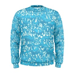 Glossy Abstract Ocean Men s Sweatshirt