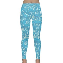 Glossy Abstract Ocean Classic Yoga Leggings