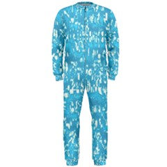 Glossy Abstract Ocean OnePiece Jumpsuit (Men)