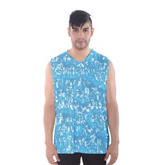 Glossy Abstract Ocean Men s Basketball Tank Top