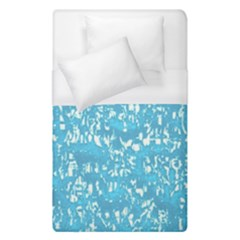 Glossy Abstract Ocean Duvet Cover (Single Size)