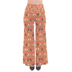 Birds Pattern Pants