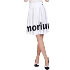 Livermorium 116 A-Line Skirt