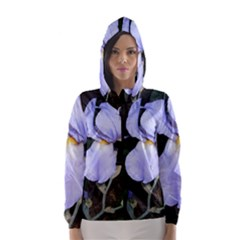 Bearded Iris Hooded Wind Breaker (Women)
