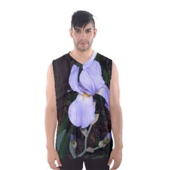 Bearded Iris Men s Basketball Tank Top