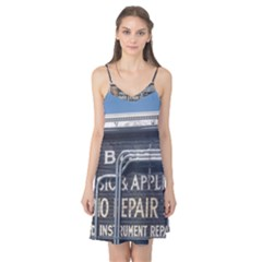 Boise Music And Appliance Radio Repair Painted Sign Camis Nightgown