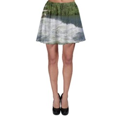 Boise River At Flood Stage Skater Skirt