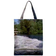 Boise River At Flood Stage Zipper Classic Tote Bag