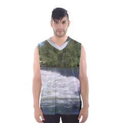 Boise River At Flood Stage Men s Basketball Tank Top