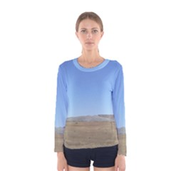 Bruneo Sand Dunes Women s Long Sleeve Tee