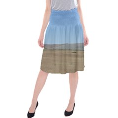 Bruneuo Sand Dunes 2 Midi Beach Skirt