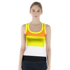 Akoisexual Racer Back Sports Top