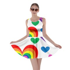 Pride Hearts Bg Skater Dress