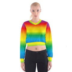 Rainbow Cropped Sweatshirt