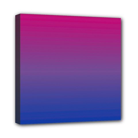 Bi Colors Mini Canvas 8  x 8