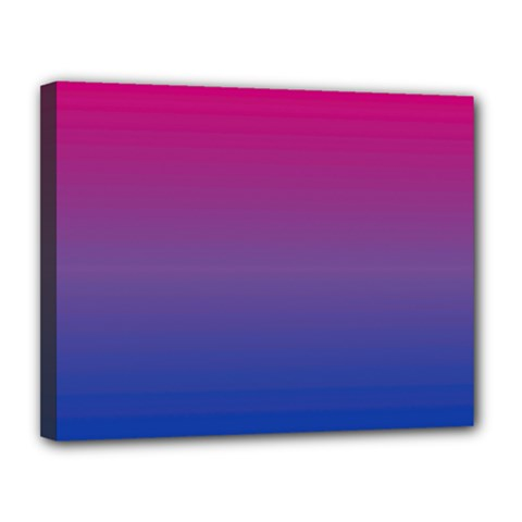 Bi Colors Canvas 14  x 11