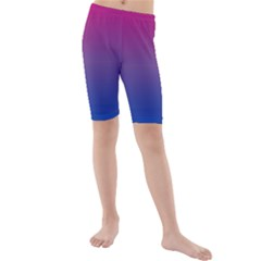 Bi Colors Kids  Mid Length Swim Shorts