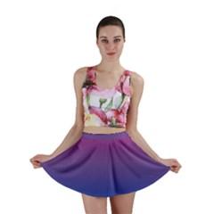 Bi Colors Mini Skirt