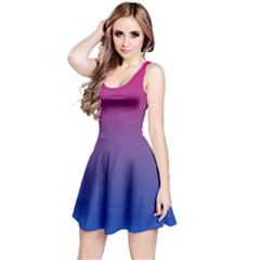 Bi Colors Reversible Sleeveless Dress