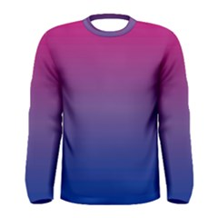 Bi Colors Men s Long Sleeve Tee