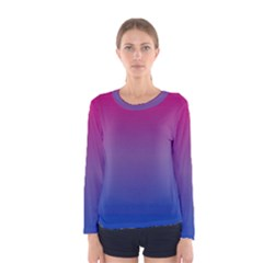 Bi Colors Women s Long Sleeve Tee