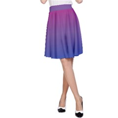 Bi Colors A-Line Skirt