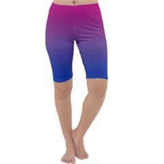 Bi Colors Cropped Leggings