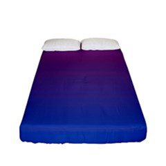 Bi Colors Fitted Sheet (Full/ Double Size)