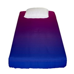 Bi Colors Fitted Sheet (Single Size)