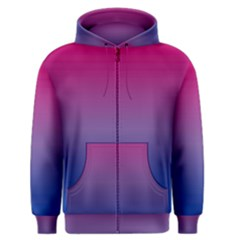 Bi Colors Men s Zipper Hoodie