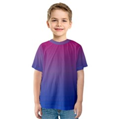 Bi Colors Kids  Sport Mesh Tee