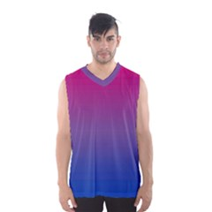 Bi Colors Men s Basketball Tank Top