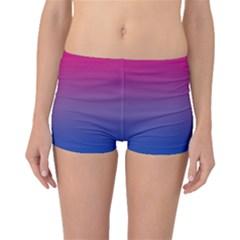 Bi Colors Boyleg Bikini Bottoms