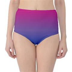 Bi Colors High-Waist Bikini Bottoms