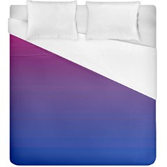 Bi Colors Duvet Cover (King Size)