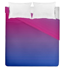 Bi Colors Duvet Cover Double Side (Queen Size)