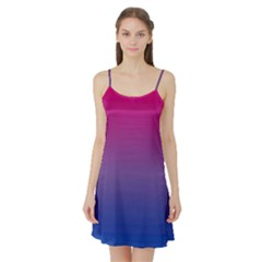 Bi Colors Satin Night Slip