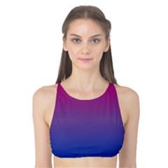 Bi Colors Tank Bikini Top