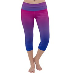 Bi Colors Capri Yoga Leggings