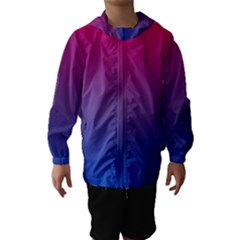 Bi Colors Hooded Wind Breaker (Kids)