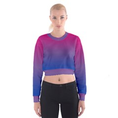 Bi Colors Cropped Sweatshirt