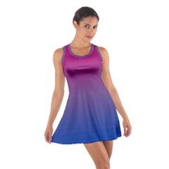 Bi Colors Cotton Racerback Dress