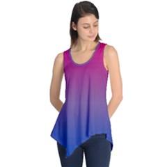 Bi Colors Sleeveless Tunic